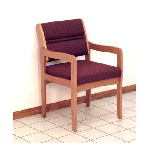 Wooden Mallet Valley Standard Leg Guest Chair