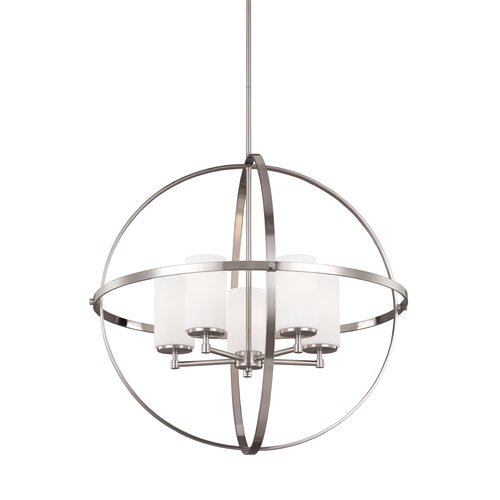Sea Gull Lighting Reviews: Sea Gull Lighting Alturas 5 Light Candle Chandelier