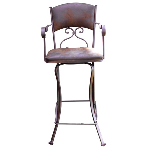 30 Swivel Bar Stool With Cushion Wayfair