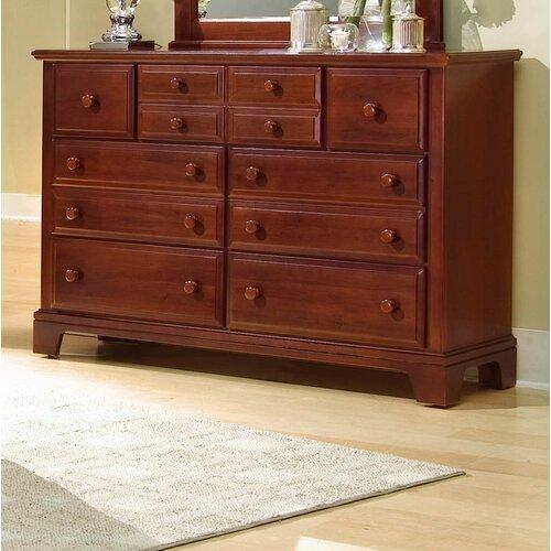 Vaughan-Bassett Hamilton Franklin Triple 7 Drawer Dresser