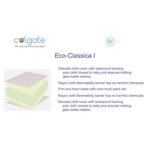 Colgate Cradletyme Naturals Ecoclassica I Crib Mattress