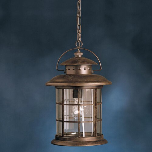 Wayfair Outdoor Hanging Lights: Rustic 1 Light Outdoor Hanging Pendant
