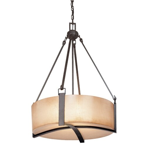 Large Foyer Drum Pendant : Austin light drum foyer pendant wayfair