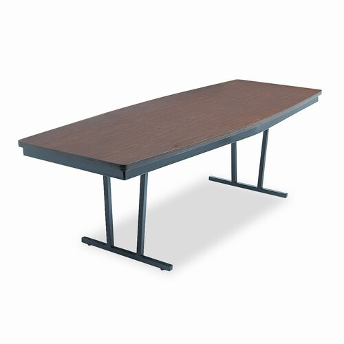 BARRICKS MANUFACTURING CO ARC 8' Boat Shaped Conference Table