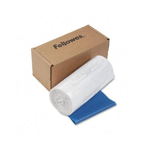 Fellowes Mfg. Co. Powershred 14-20 Gallon Shredder Bag (50 Bag/Roll)