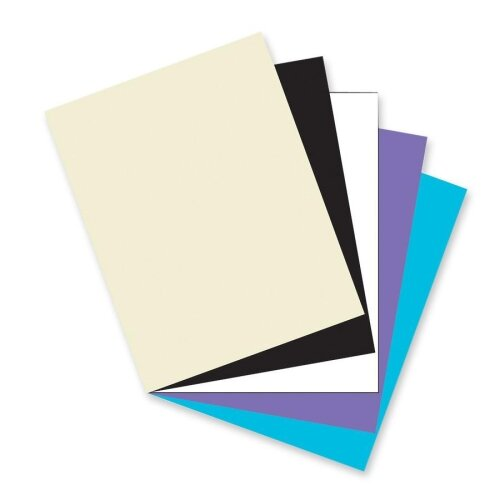 """Pacon Corporation Card Stock Paper,Classic,65 lb.,8-1/2""""x11"""",100/PK,Assorted"""