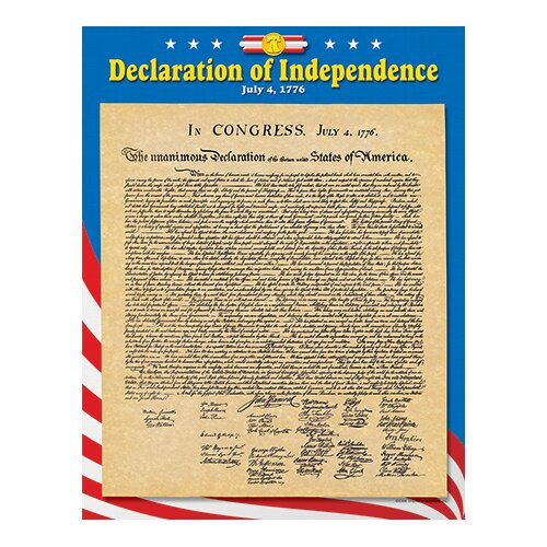 Furniture Deals Independence: Declaration Of Independence Chart