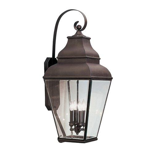 Exeter 4 Light Outdoor Wall Lantern