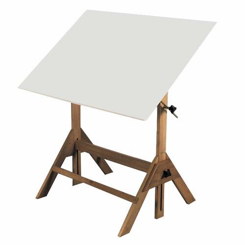 Martin Universal Design Royal Elm Melamine Drafting Table