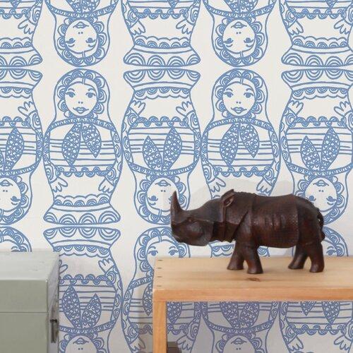 Aimee Wilder Wallpaper: Diorama 15' X 27'' Maatuska Wallpaper