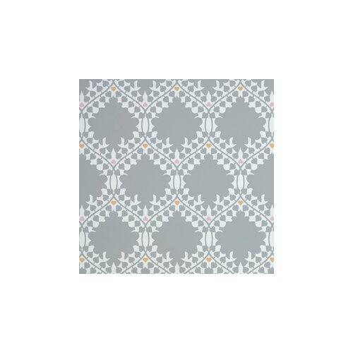 "Aimee Wilder Wallpaper: Analog Leaf 15' X 28"" Damask Wallpaper"