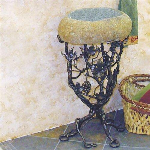 Quiescence Vineyard Pedestal Bathroom Sink