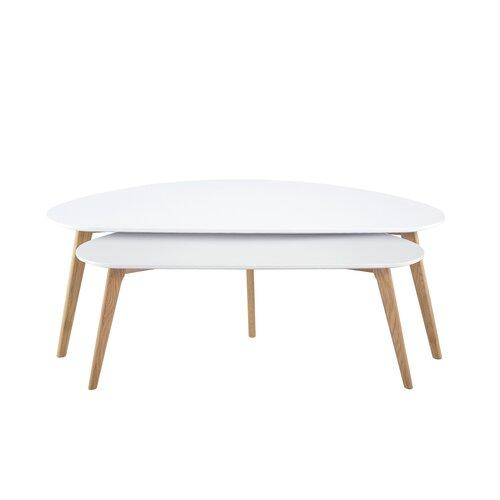 Diamond Sofa Terra 2 Piece Nesting Coffee Table Set