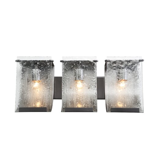 Vanity Lights Stick On : Varaluz Rain Recycled 3 Light Bath Vanity Light & Reviews Wayfair