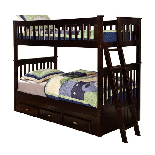Discovery World Furniture Twin Bunk Bed Reviews Wayfair