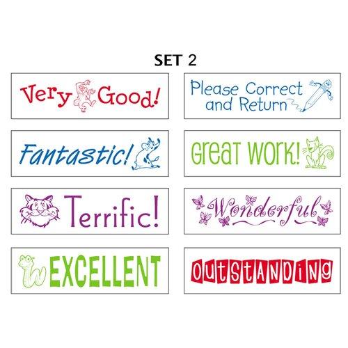 ECR4kids Self Inking Teacher Stampers