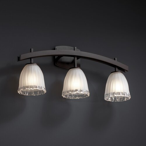 Justice Bathroom Lighting: Archway 3 Light Bath Vanity Light