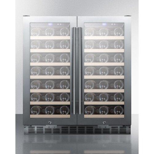 70 Bottles Dual Zone Freestanding Wine Refrigerator Wayfair