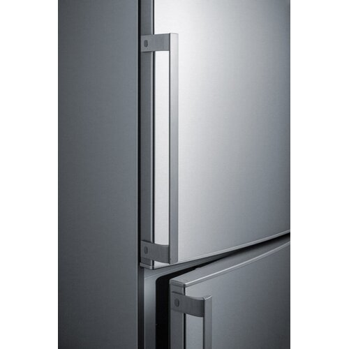 Refrigerator with shaved ice counter depth