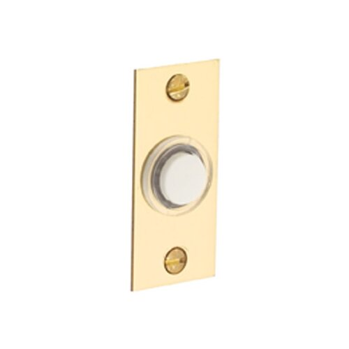 Baldwin Rectangular Doorbell Button