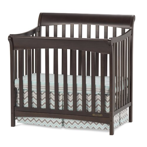Child Craft Ashton Mini 4 in 1 Convertible Crib with
