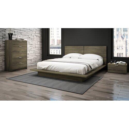 stellar home queen platform customizable bedroom set