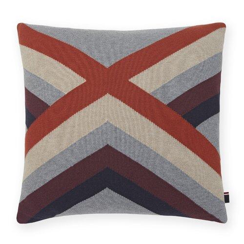 Geo Knit Decorative Throw Pillow Wayfair