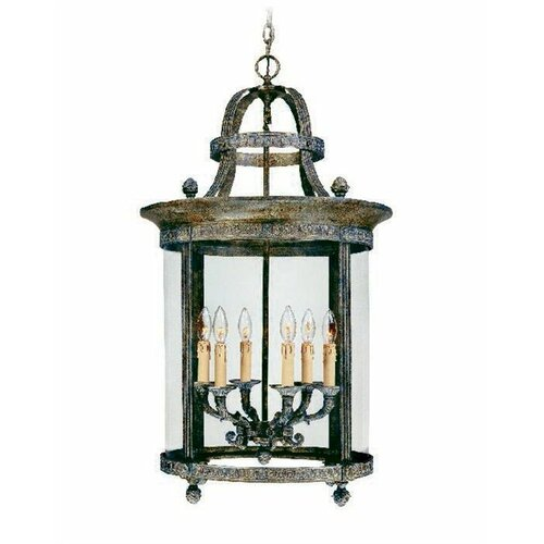 World imports lighting french country 6 light outdoor for French country exterior lighting