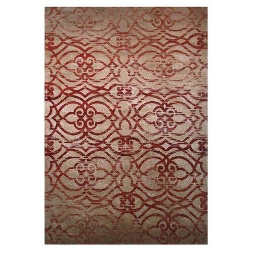 Vista Brown/Red Indoor Area Rug