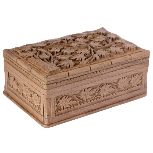 M Ayub Artisan Ivy Fantasy Jewelry Box by Novica