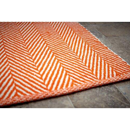 nuLOOM Bivouc Orange Mathew Indoor Outdoor Area Rug