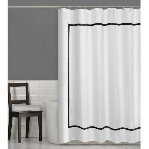 maytex hotel border shower curtain reviews wayfair