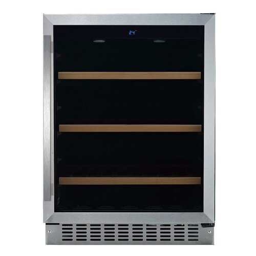 fagor 6 bottle single zone built in wine refrigerator reviews wayfair. Black Bedroom Furniture Sets. Home Design Ideas