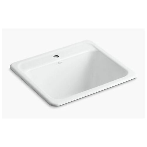 ... Glen Falls Top-Mount/Undermount Utility Sink with Single Faucet Hole