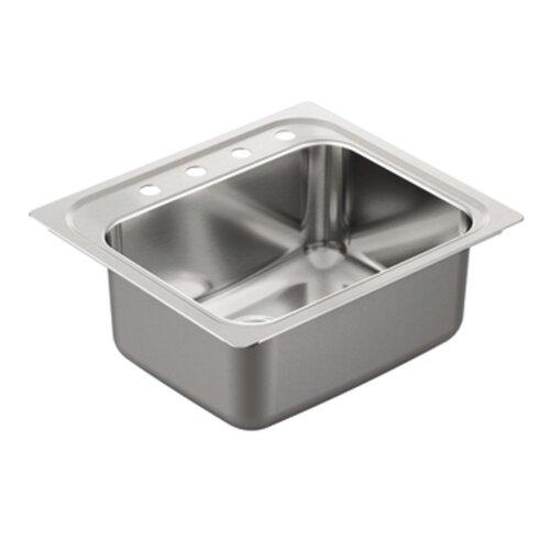 Kitchen Sink Drop In : 1800 Series Single Bowl Drop-In Kitchen Sink Wayfair