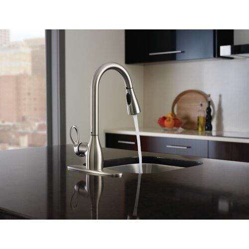kleo single handle kitchen faucet wayfair kleo chrome one handle low arc bathroom faucet ws84900