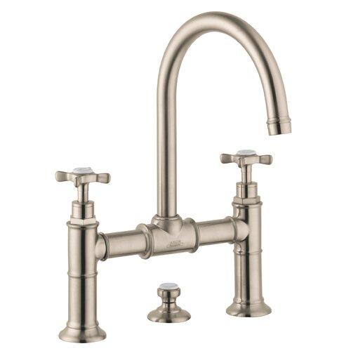 Axor Montreux Double Handle Widespread Bathroom Faucet Wayfair