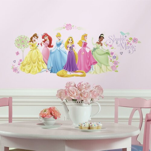 room mates popular characters disney princess wall decal pics photos disney princess sticker decals