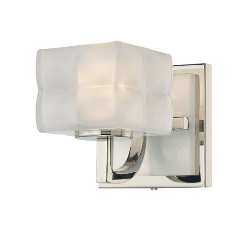 George Kovacs Squared 1 Light Wall Sconce & Reviews Wayfair