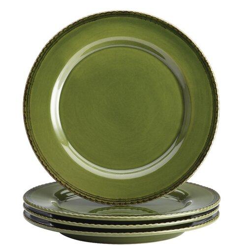 bonjour sierra pine dinner plate set reviews wayfair