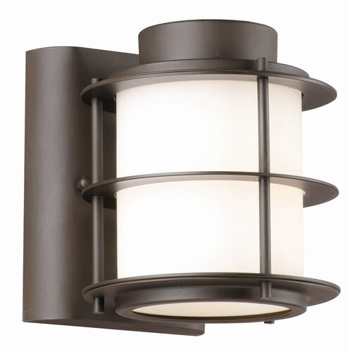 Philips Forecast Lighting Hollywood Hills 1 Light Outdoor Wall Sconce & Reviews Wayfair