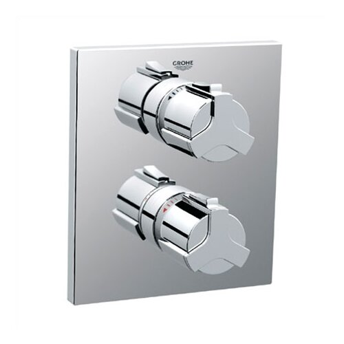 Grohe Allure Integrated Thermostatic Shower Faucet Trim with Grip Handle