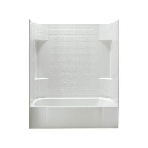 Sterling By Kohler Accord 30 Quot Bath Shower Kit With Left