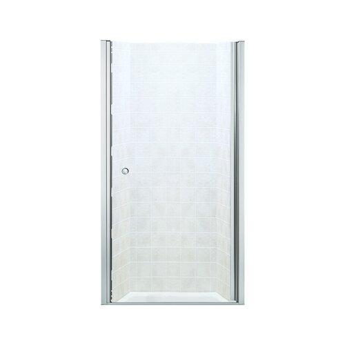 """Kohler Sterling Sliding Shower Doors: Sterling By Kohler Finesse 65.5"""" X 34"""" Pivot Frameless"""