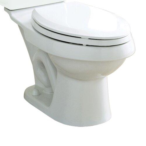 Dual Force Dual Flush Elongated Toilet Bowl Only Wayfair