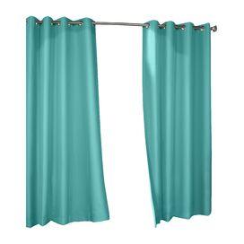 Kornoelje Rod Pocket Single Curtain Panel