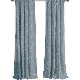 Moderne Twist Single Curtain Rod en Hardware  Set
