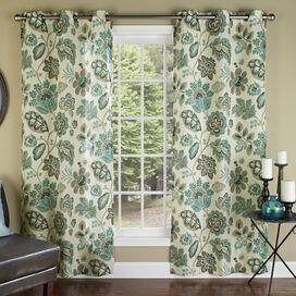 verduistering Rod Pocket Single Window Curtain Panel