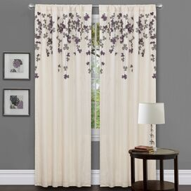 Sofia Doorvoertule Single Curtain Panel