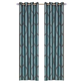 Mia Rod Pocket Curtain Panel (set van 2)